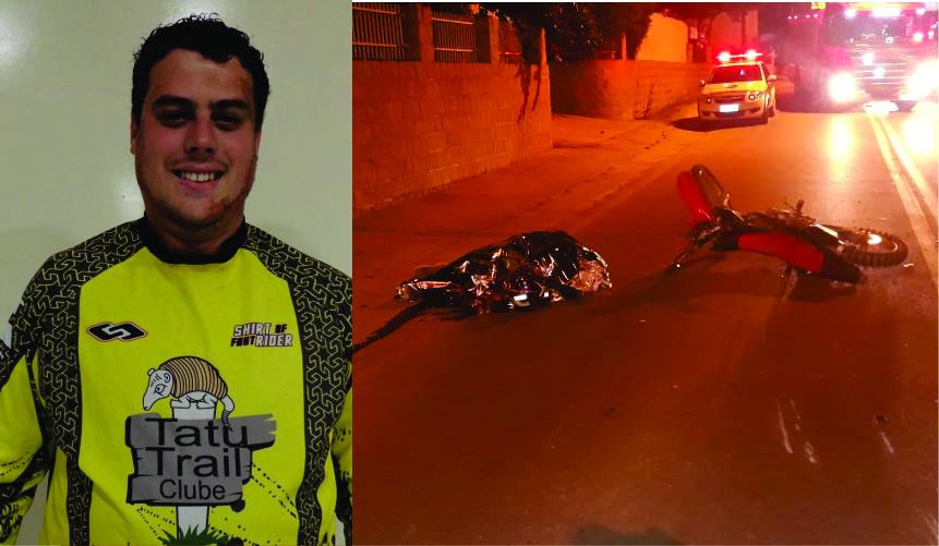 Piloto de trilha morre em acidente na Limeira