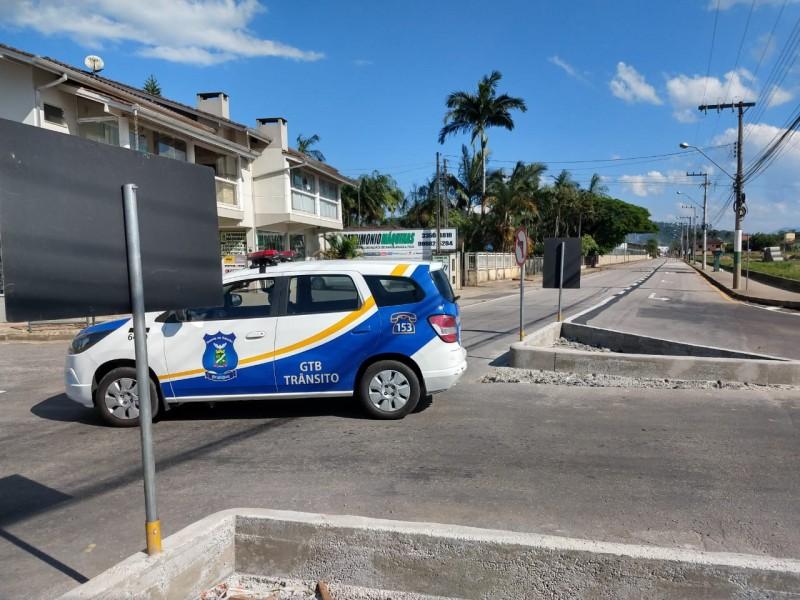 Prefeitura interdita rua Libério Benvenutti