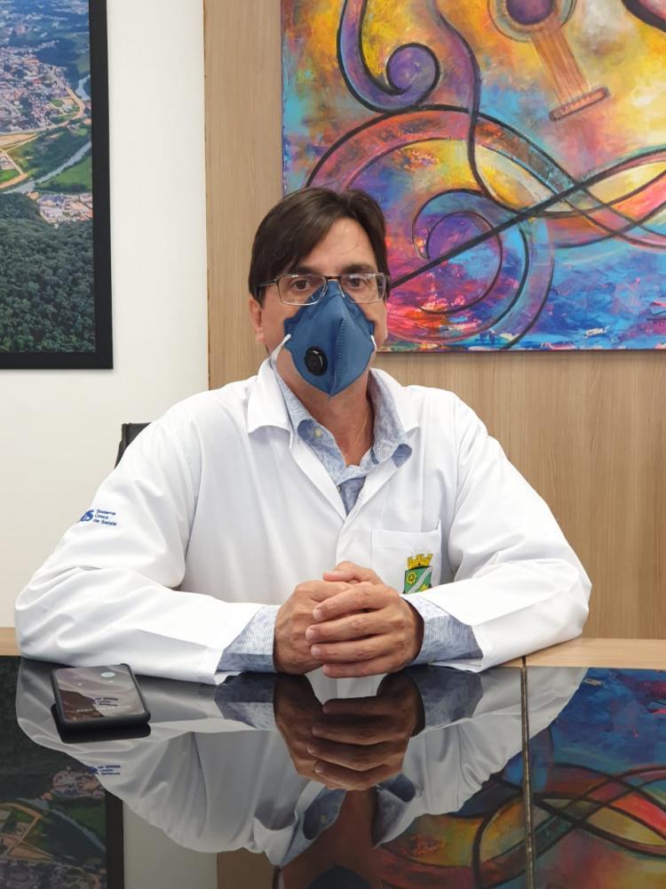 Secretário de Saúde de Brusque testa positivo para o Coronavírus