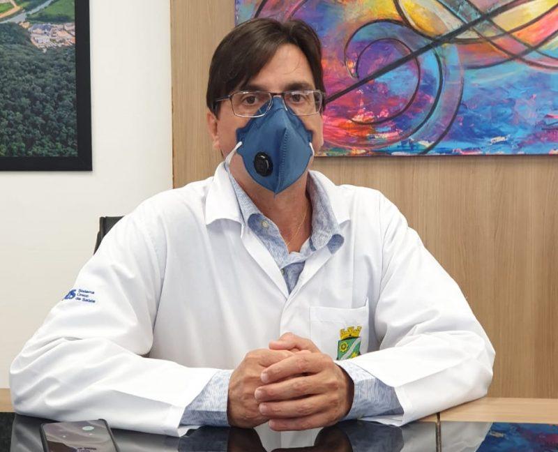 Secretário de Saúde de Brusque está internado na UTI em Florianópolis