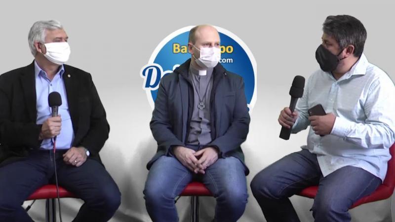 Bate-papo com Deivis Junior - Pe. Diomar Romaniv e Pr. Claudio Schaefer